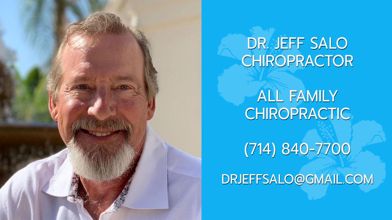 Dr. Jeff Salo - Family Chiropractor Huntington Beach, CA